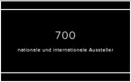 700 nationale und internationale Aussteller